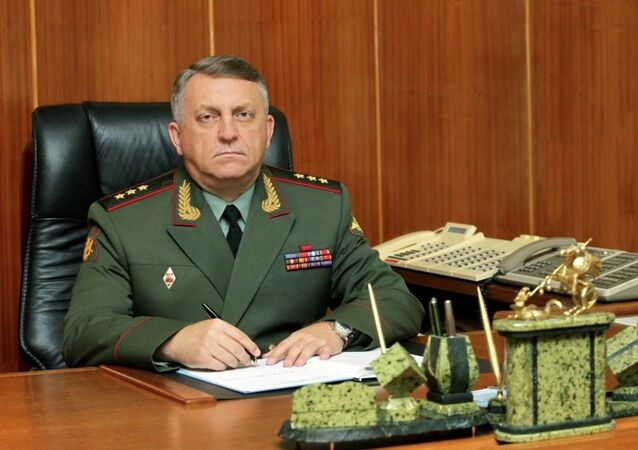 Strategic Missile Forces Commander Col.Gen. Sergei Karakayev