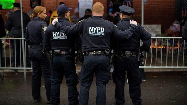 New York City Police officers - Sputnik International