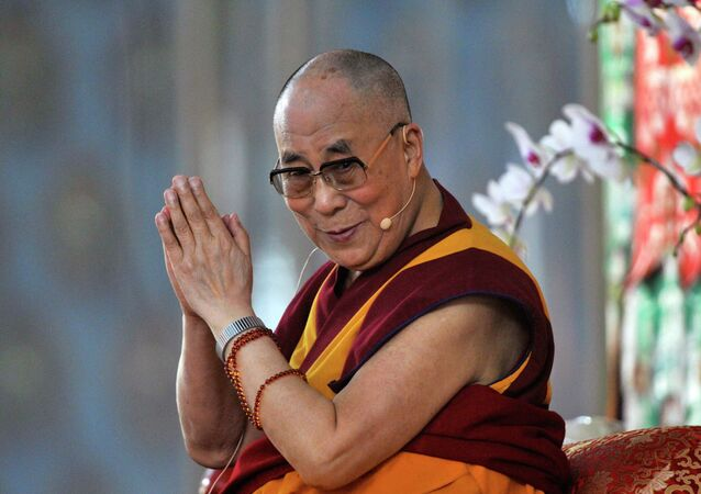 Exiled Tibetan spiritual leader, the Dalai Lama