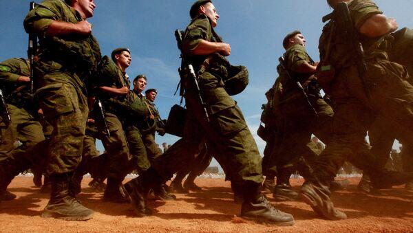 Russian Armed Forces self-propelled artillery batteries - Sputnik International