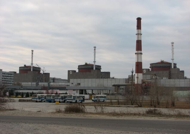 The Zaporizhia Nuclear Power Station