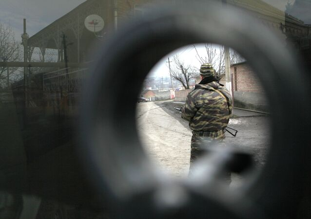Special forces operation in Ingushetia. File photo