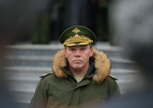 Russian Chief of the General Staff, Gen. Valery Gerasimov