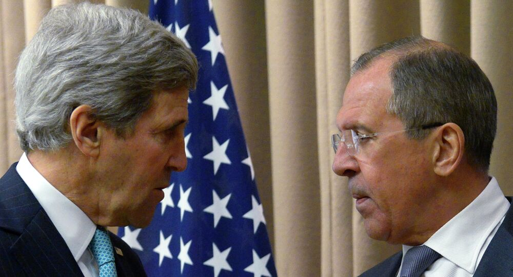 US Secretary of State John Kerry told Russian Foreign Minister Sergei Lavrov