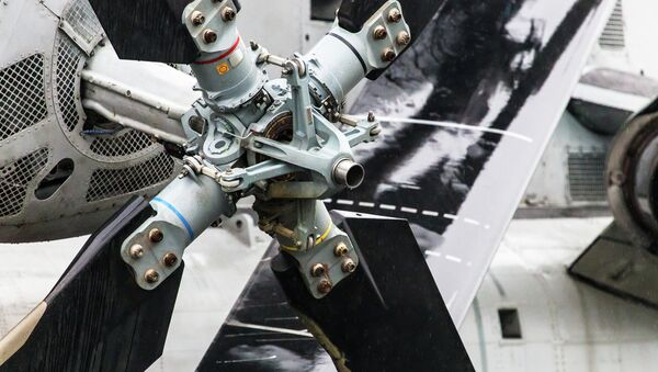 This is a close up view of one of the nine Sikorsky CH-53 - Sputnik International