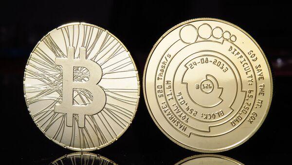 Bitcoin coins photo - Sputnik International