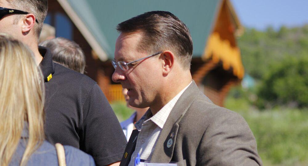 Utah State Rep Ken Ivory