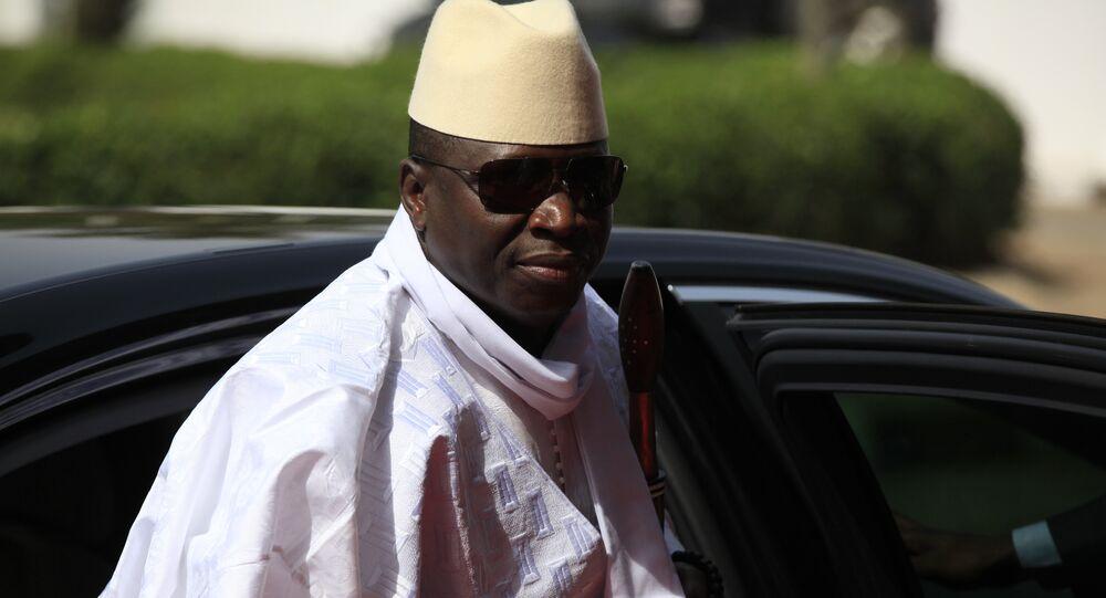 Gambia's President Yahya Jammeh