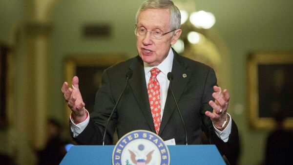Senate Majority Leader Harry Reid - Sputnik International