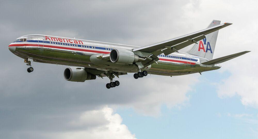 American Airlines B767-323ER N371AA Old Scheme