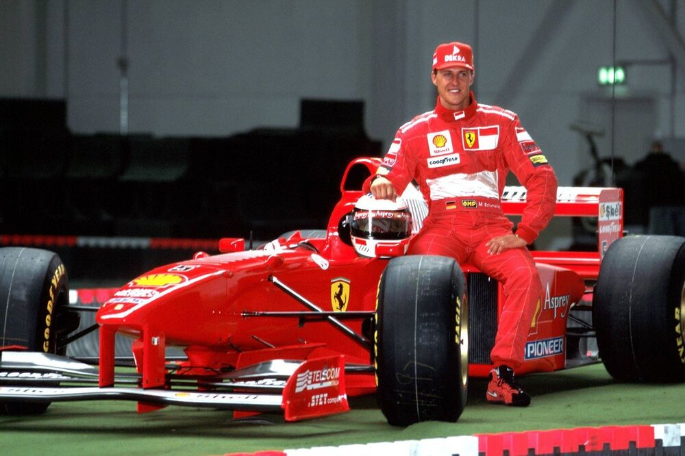 German Formula One driver Michael Schumacher