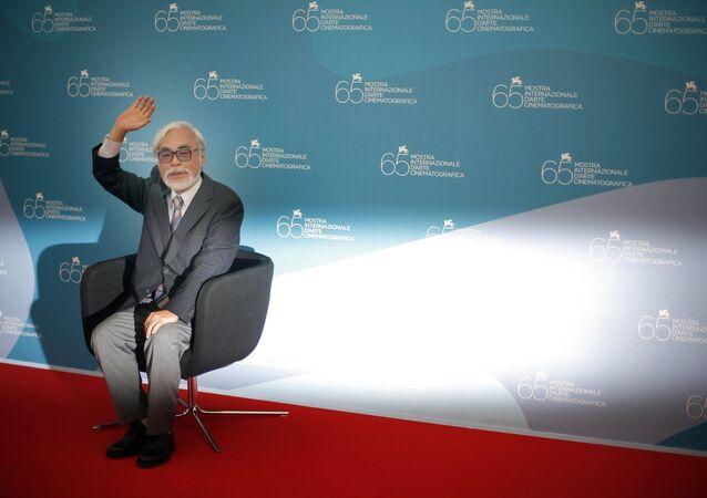 Japanese director Hayao Miyazaki