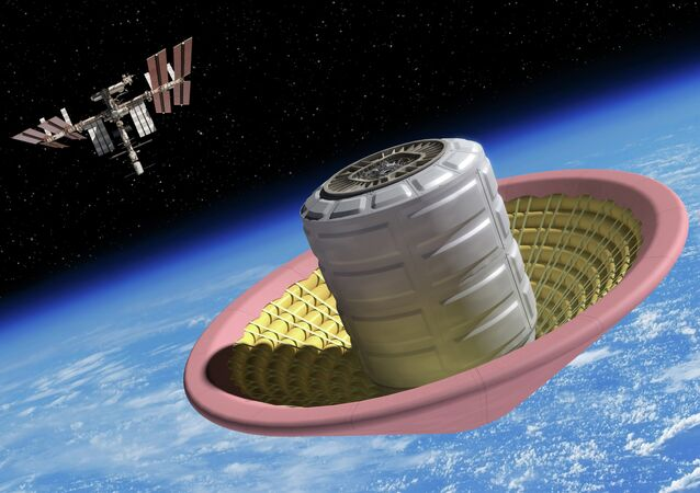 NASA is crafting a donut-shaped inflatable landing mechanism, which will become the key to sending a manned expedition to Mars