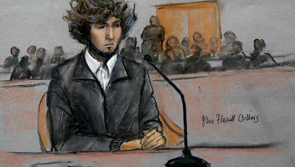 Boston Marathon bombing suspect Dzhokhar Tsarnaev - Sputnik International