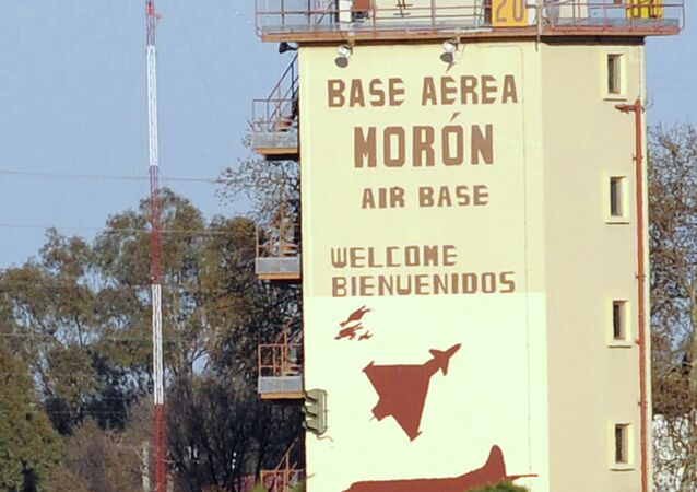 The Moron de la Frontera air base near Sevilla