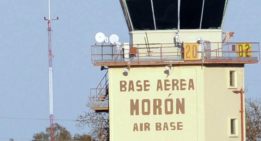 The Moron de la Frontera air base near Sevilla