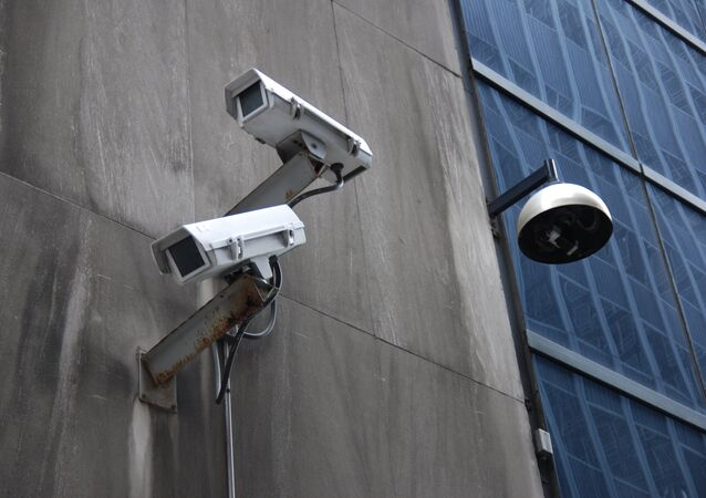 Surveillance in NYC's financial district.
