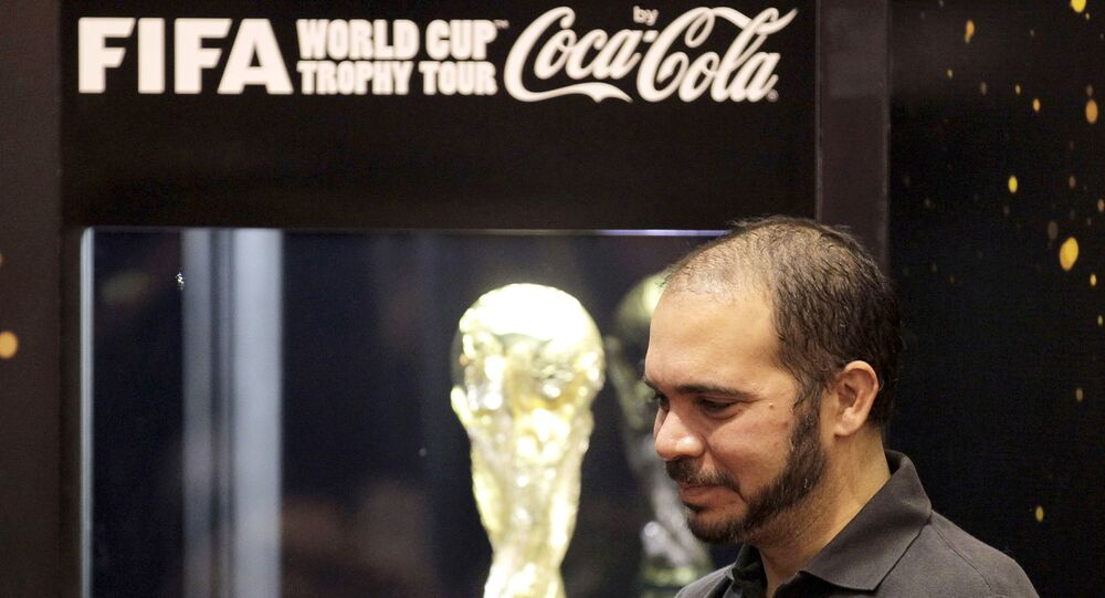 Jordanian Prince Ali Bin al-Hussein has announced that he will make a bid for the presidency of the International Federation of Association Football
