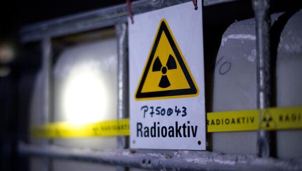 A tank containing radioactive water - Sputnik International