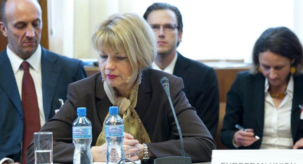 EU Political Director Helga Schmid