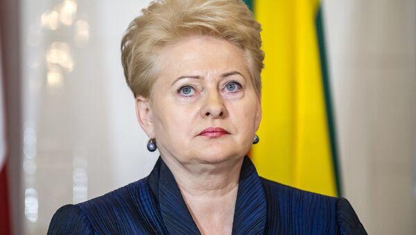 Dalia Grybauskaite - Sputnik International