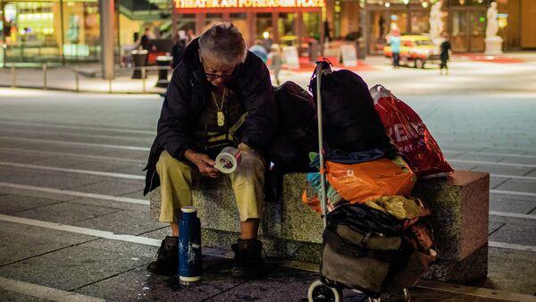 Homeless in Germany - Sputnik International