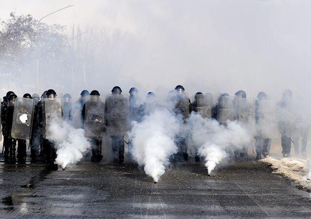 European Union police