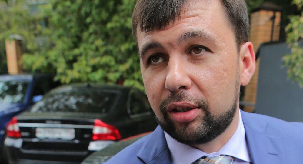 DPR envoy, Denis Pushilin