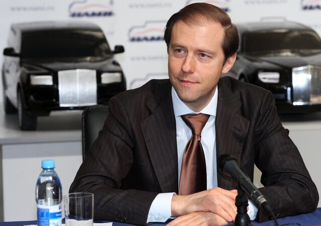 Denis Manturov visits Central Scientific Research Automobile and Engine Institute