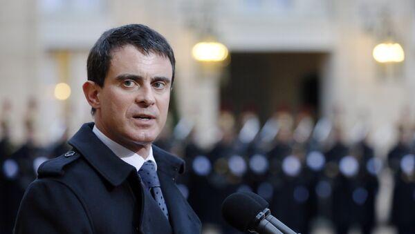French Prime Minister Manuel Valls - Sputnik International