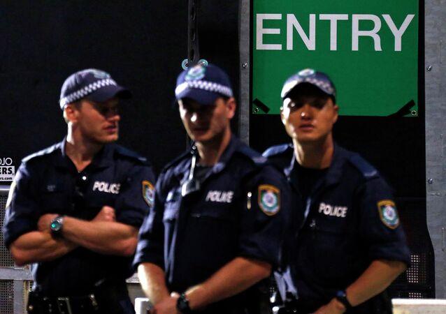 Police officers, Sydney