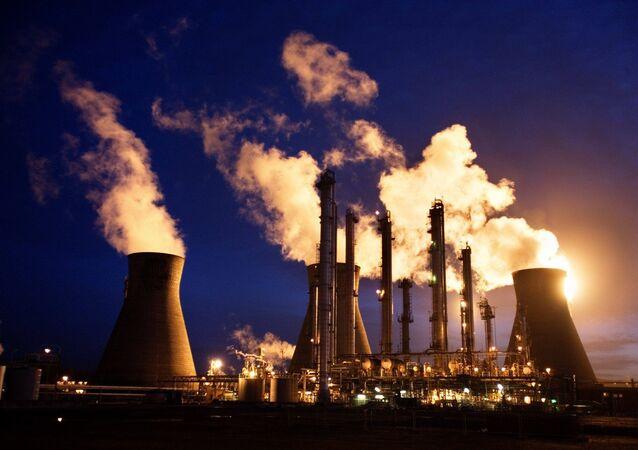 BP's Grangemouth oil refinery