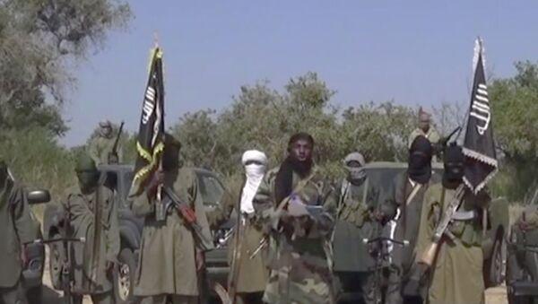 Image taken from video by Nigeria's Boko Haram terrorist network - Sputnik International