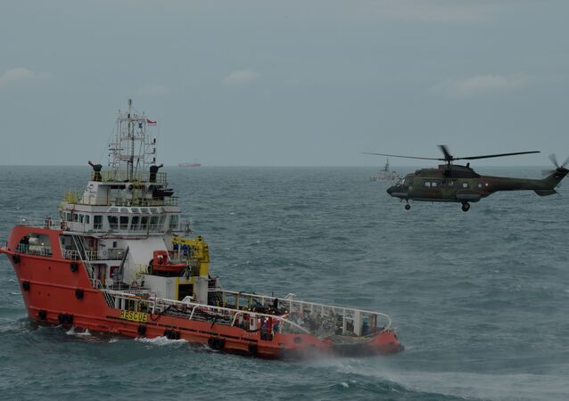 Rescue operations for AirAsia QZ8501