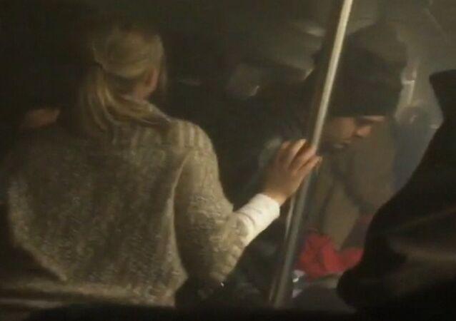 Passenger Shoots Video of Washington Subway Incident