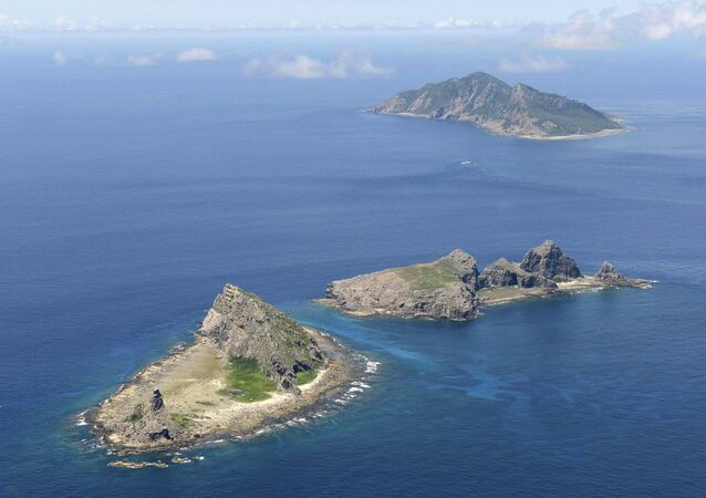 Minamikojima, Kitakojima and Uotsuri islands of the Senkaku Islands in the East China Sea