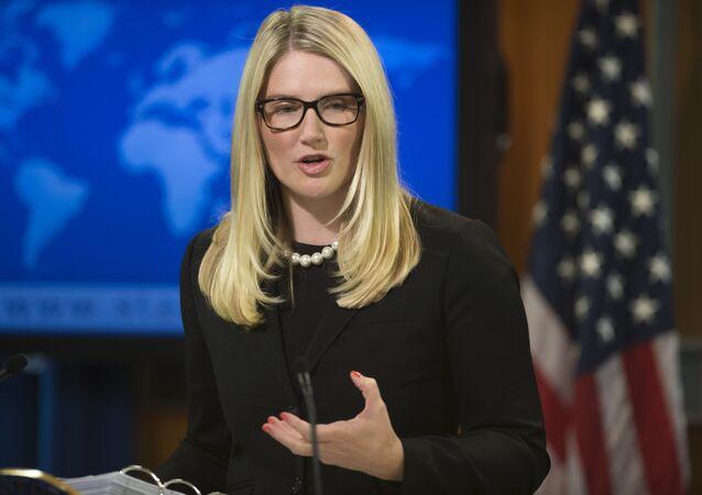 US State Department Deputy Spokesperson Marie Harf