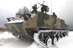 Russian Military Tests Rakushka APC in Snow Drills Near Tula