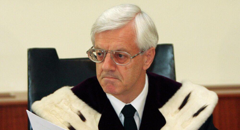 Austrian Constitutional Court President Gerhart Holzinger