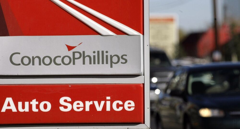 ConocoPhillips gasoline station