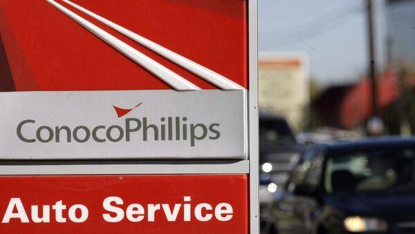 ConocoPhillips gasoline station - Sputnik International