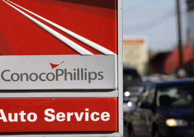 ConocoPhillips gasoline station