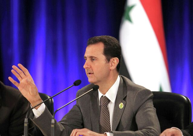 Talks in Moscow between the Syrian government and the opposition should be treated as preparation for the conference to settle the Syrian conflict, Syrian President Bashar Assad said in an interview to Foreign Affairs magazine.