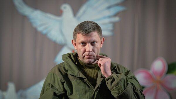 Self-proclaimed Donetsk People's Republic leader Alexander Zakharchenko - Sputnik International