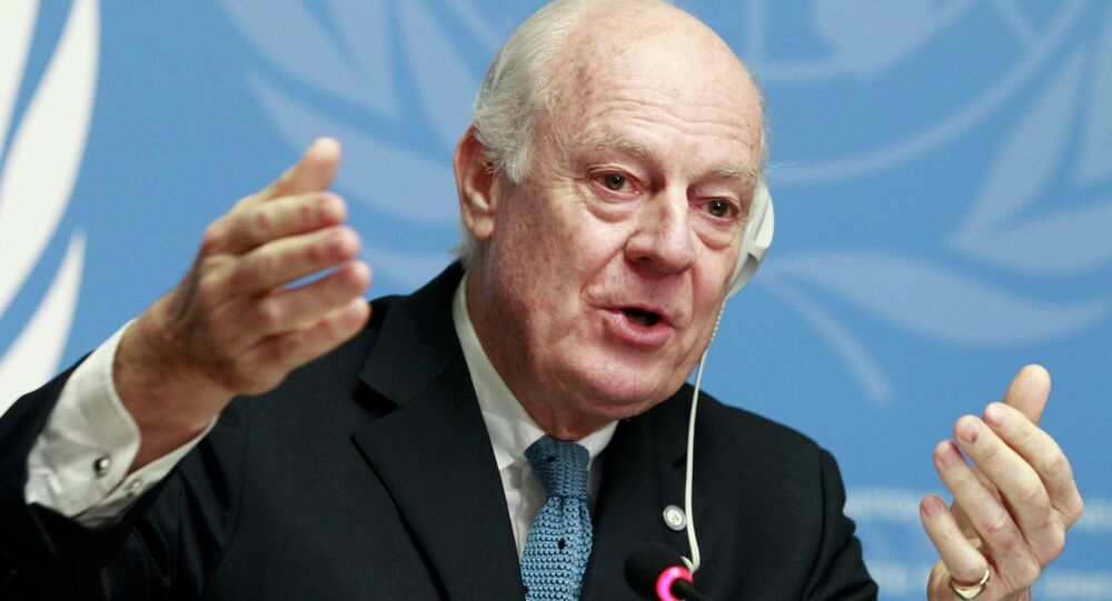 United Nations Special Envoy of the Secretary-General for Syria Staffan de Mistura