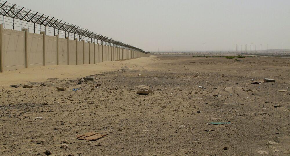 Desert outside Abu Dhabi