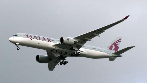 Airbus A350-9 Qatar Airways - Sputnik International