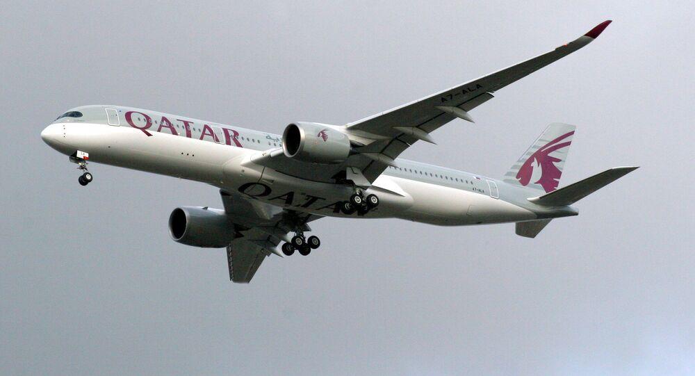 Airbus A350-9 Qatar Airways
