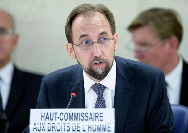 Zeid Ra'ad Zeid Al Hussein, United Nations High Commissioner for Human Rights