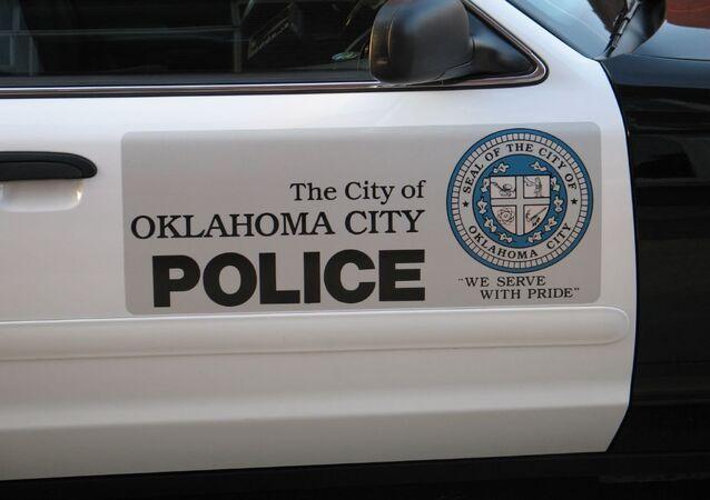 Oklahoma City police car